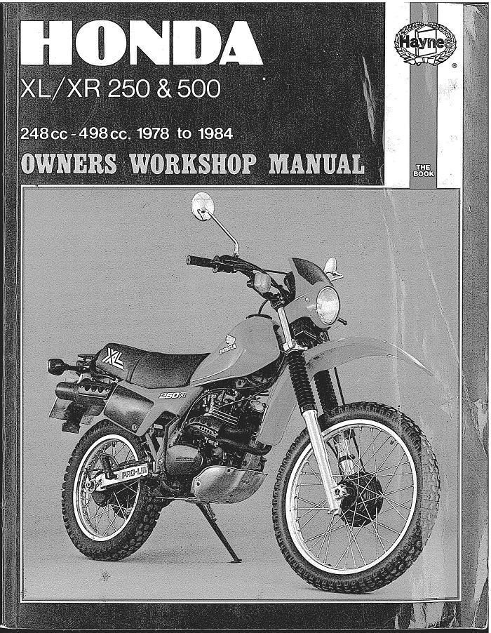 workshopmanual xr250 1978 to 1984 en 09062014 2141
