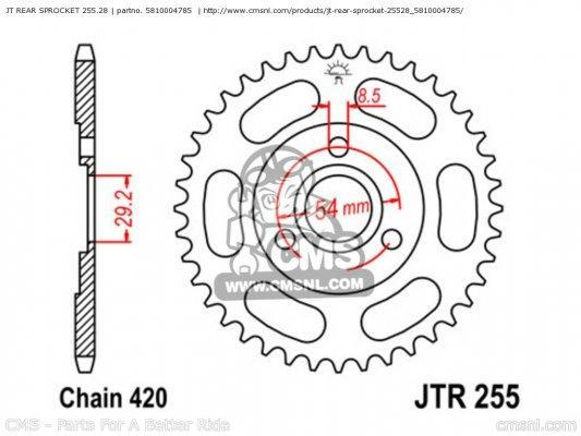 jt rear sprocket 25528 big5810004785 03 eee7 gallery