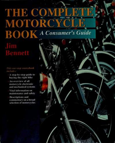 The complete motorcycle book - a consumer's guide (1995)