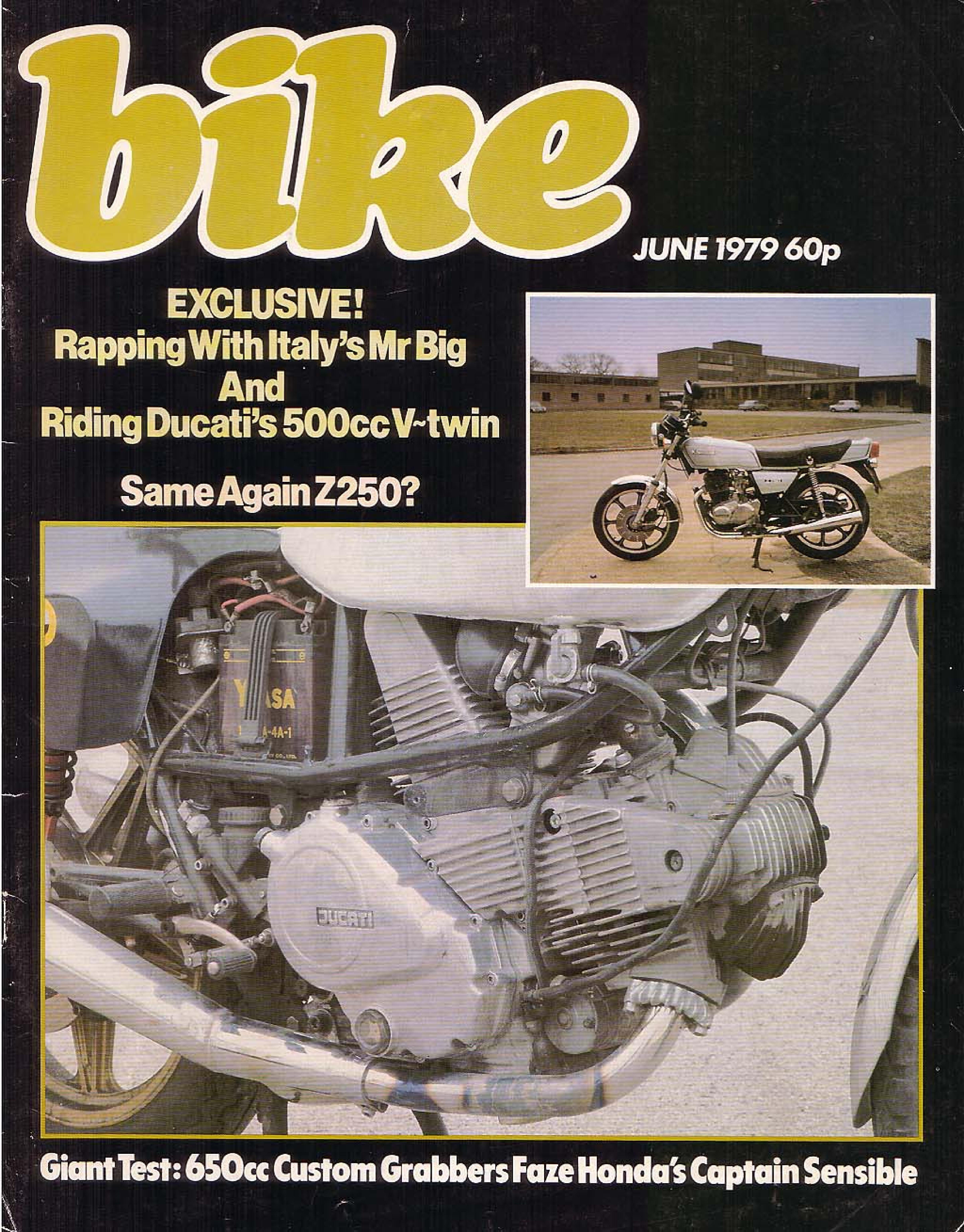 Bike Magazine about Honda CB650 (June 1979)
