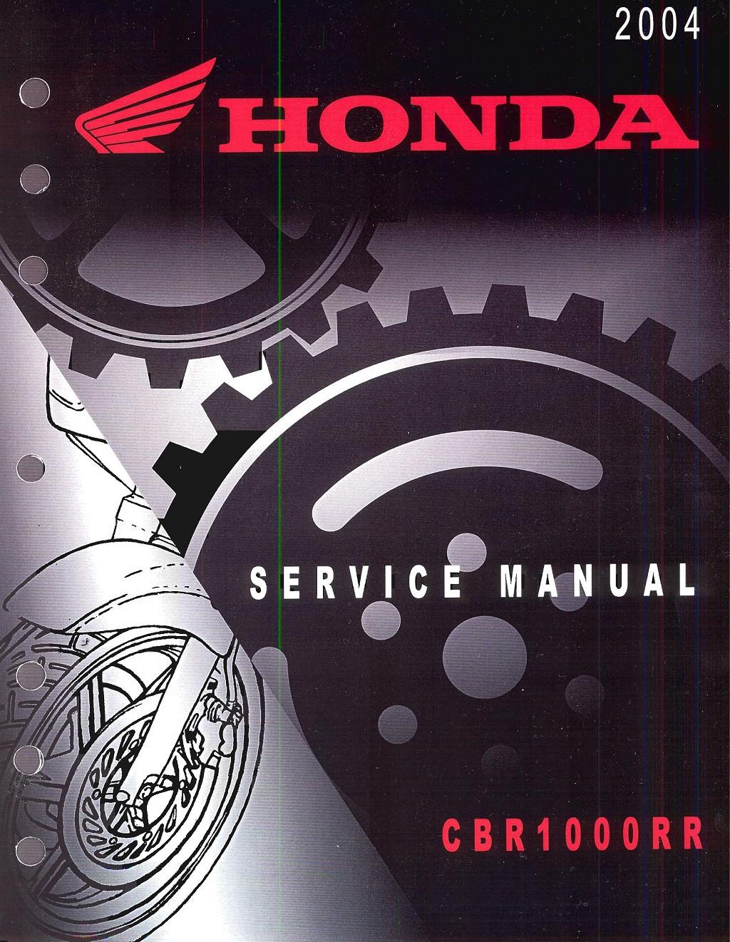 Workshop Manual for Honda CBR1000RR (2004)