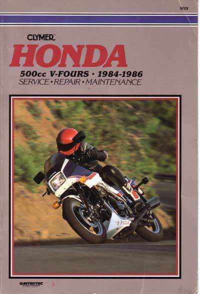 Workshop Manual for Honda VF500 Interceptor (1984-1986)