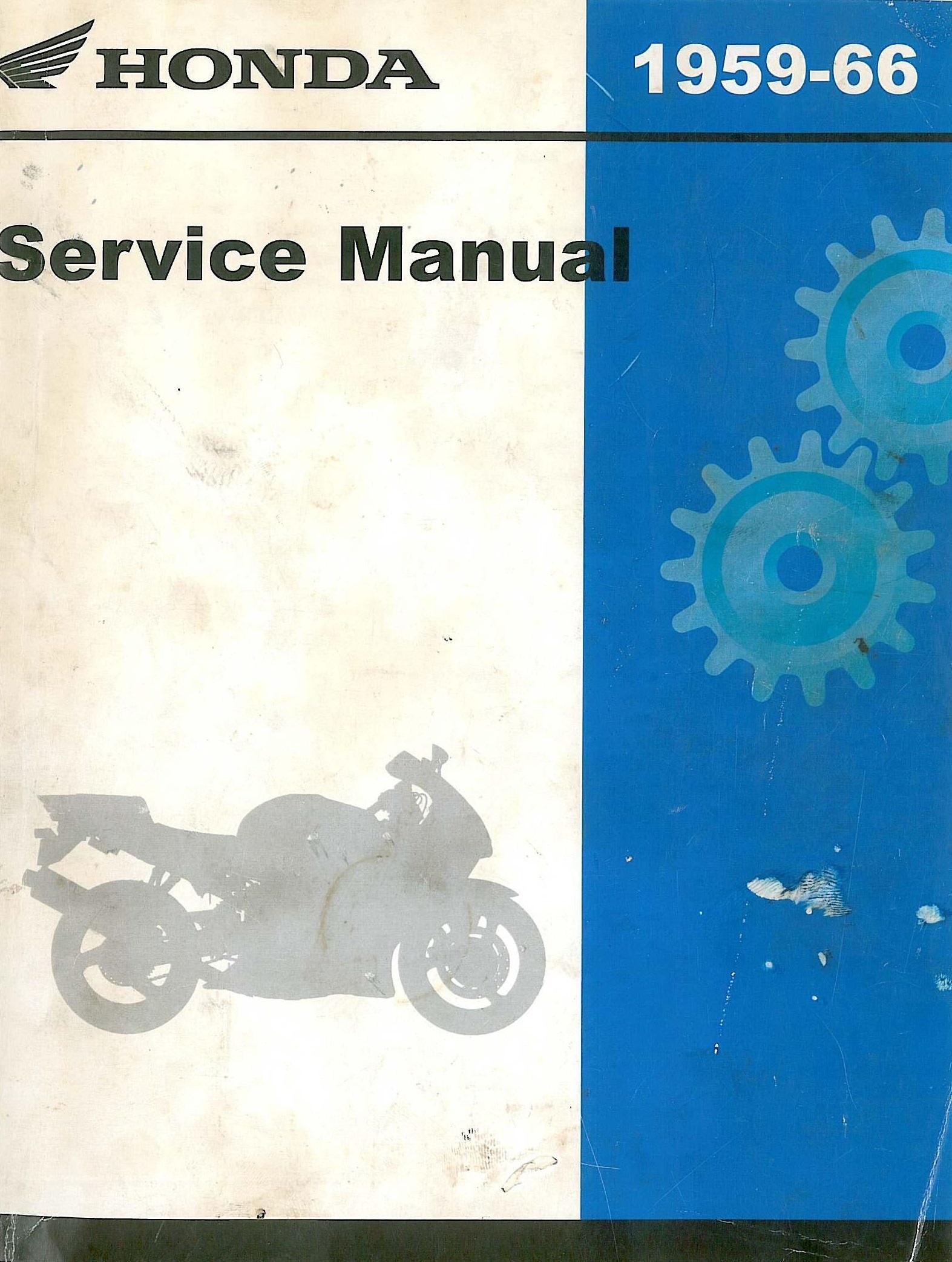 Workshopmanual For Honda CB92 (1959-1966)